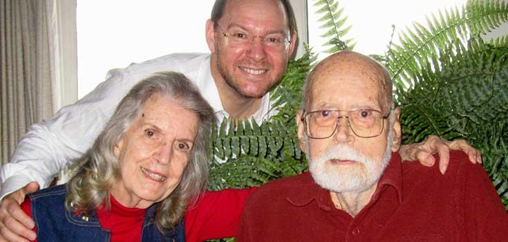 Author John Rasjo and Dottie and Dr Don Thomas