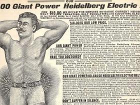 Electric belt ad