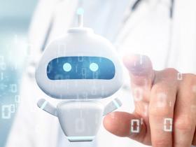 robot doctor concept