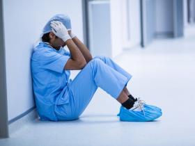 stressed surgeon