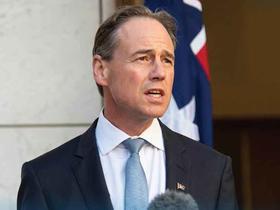 Federal Minister for Health Greg Hunt