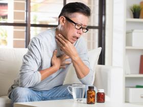 Reflux throat pain