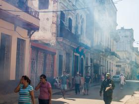 Havana Zika fumigation