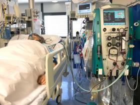 Patient in ICU