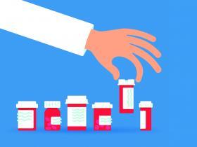 Picking medicine