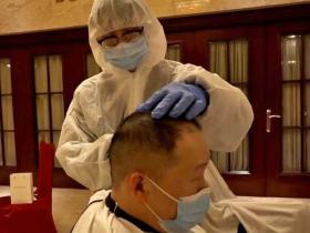 Shaving hair to prevent spread of coronavirus