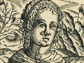 Sinonasal peasant woman from bulgaria