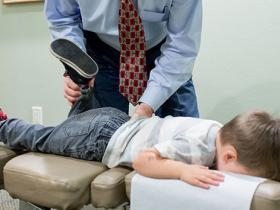 Chiropractic care of child