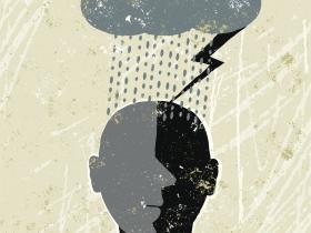 Rain, stress, doctor