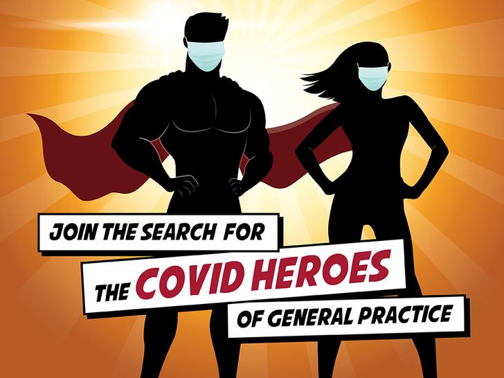 COVID hero logo