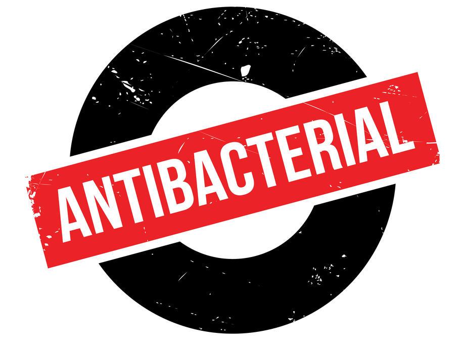 antibacterial sign