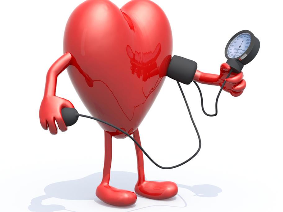blood pressure heart man