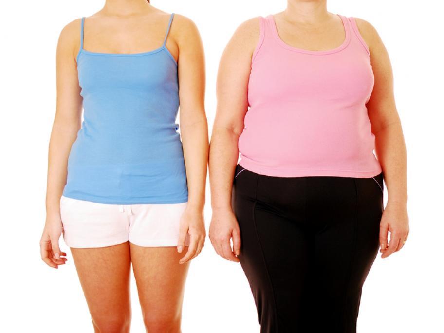 fat versus slim