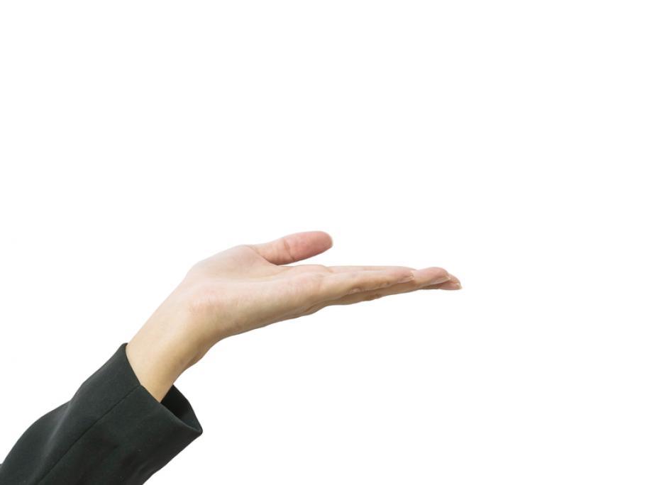 hand wanting