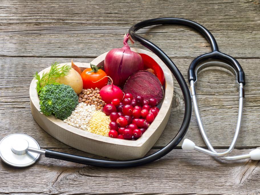 heart food concept