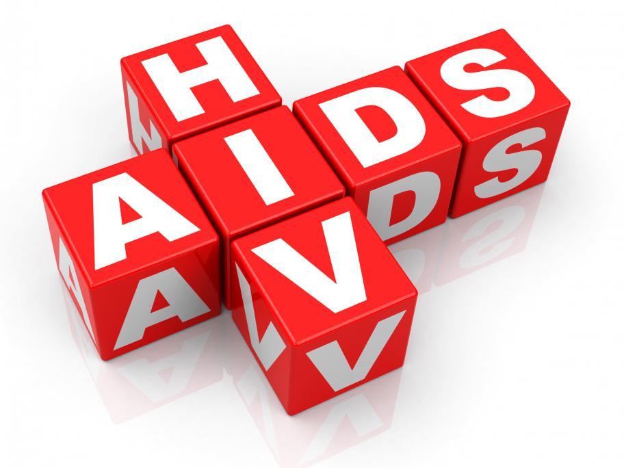 HIV AIDS concept