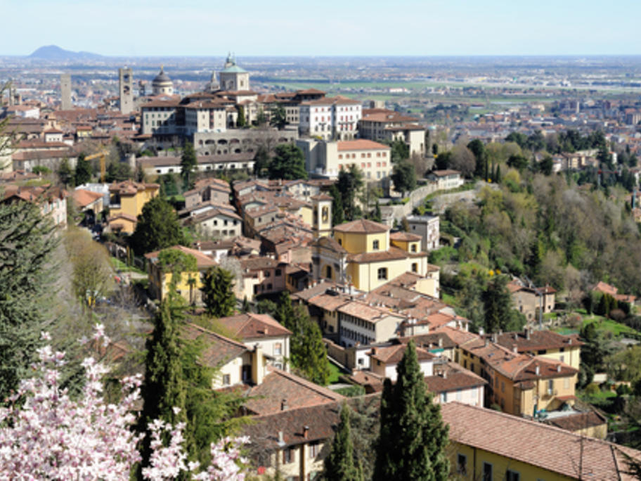View of Lombardy, Italy