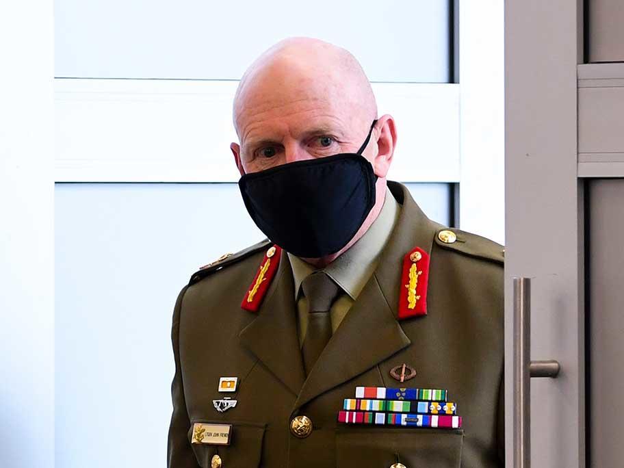 Lt Gen John Frewen