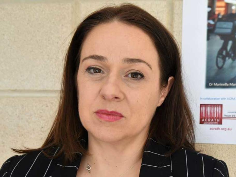 Associate Professor Marinella Marmo (PhD).