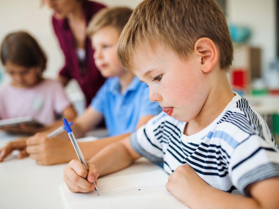 young children at school - Europe