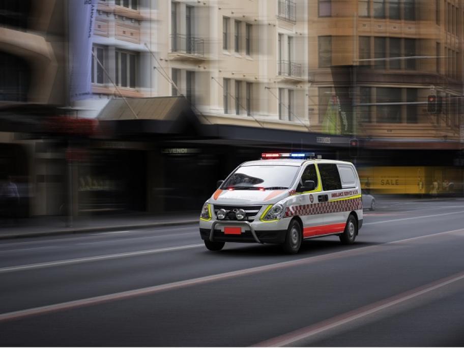 ambulance emergency concept