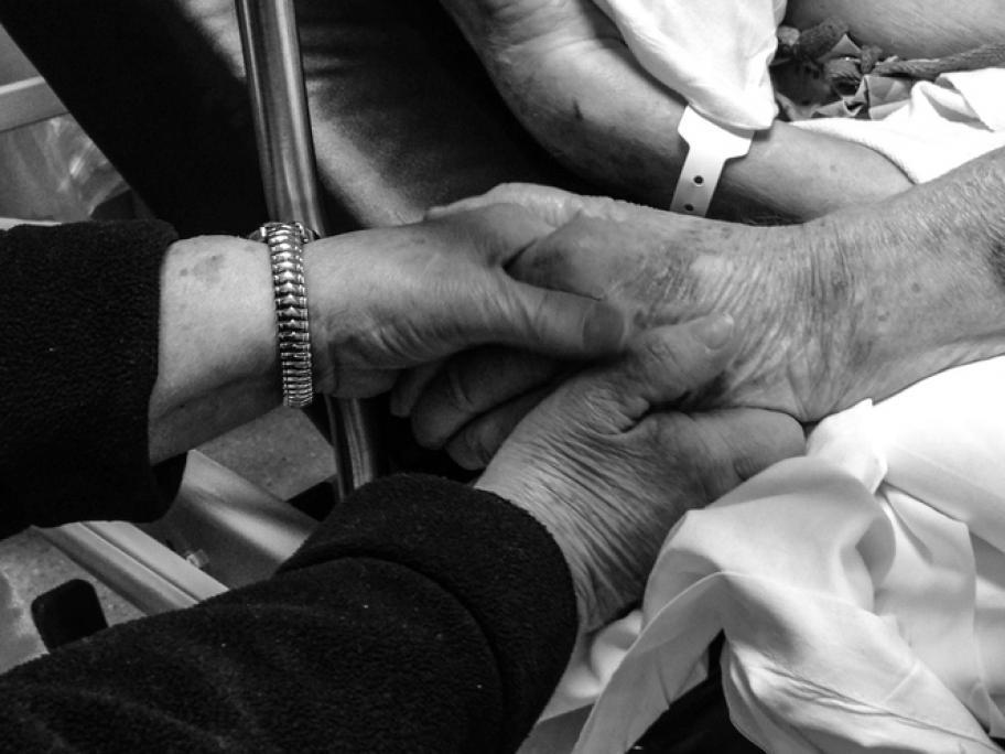 elderly dying