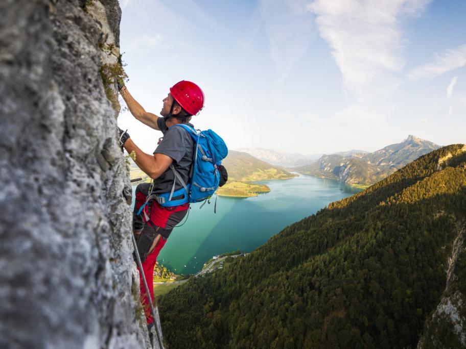 High-altitude climber