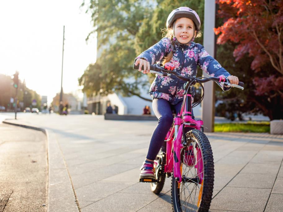 Child riding