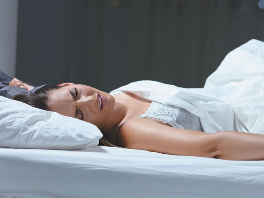 woman insomnia sleepless
