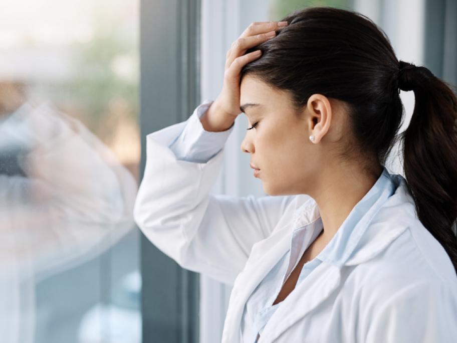 Depressed doctor
