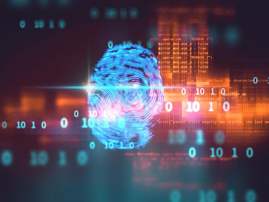 Fingerprint, cyber attack
