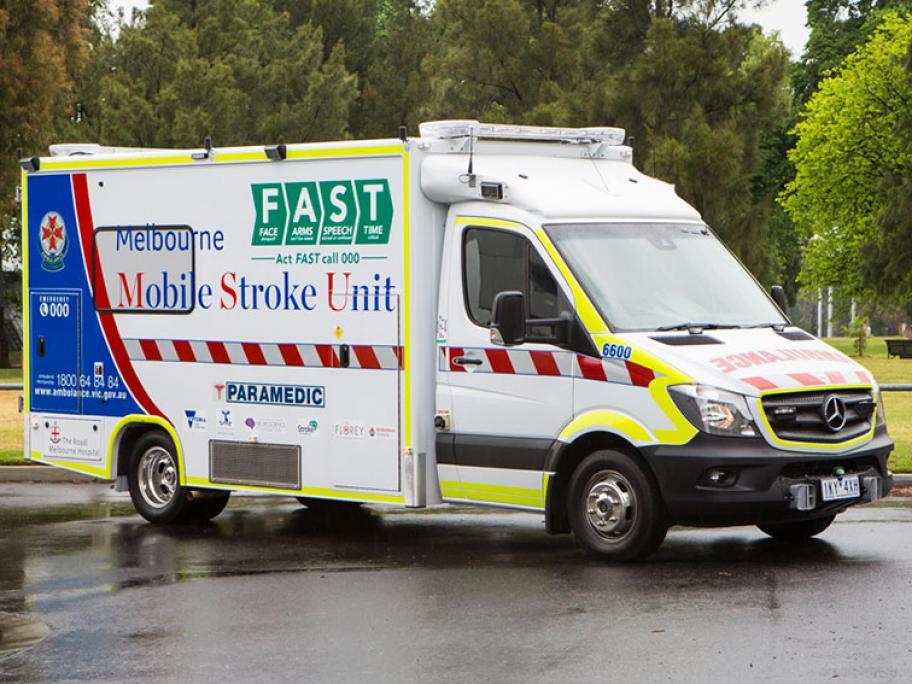 Mobile stroke unit