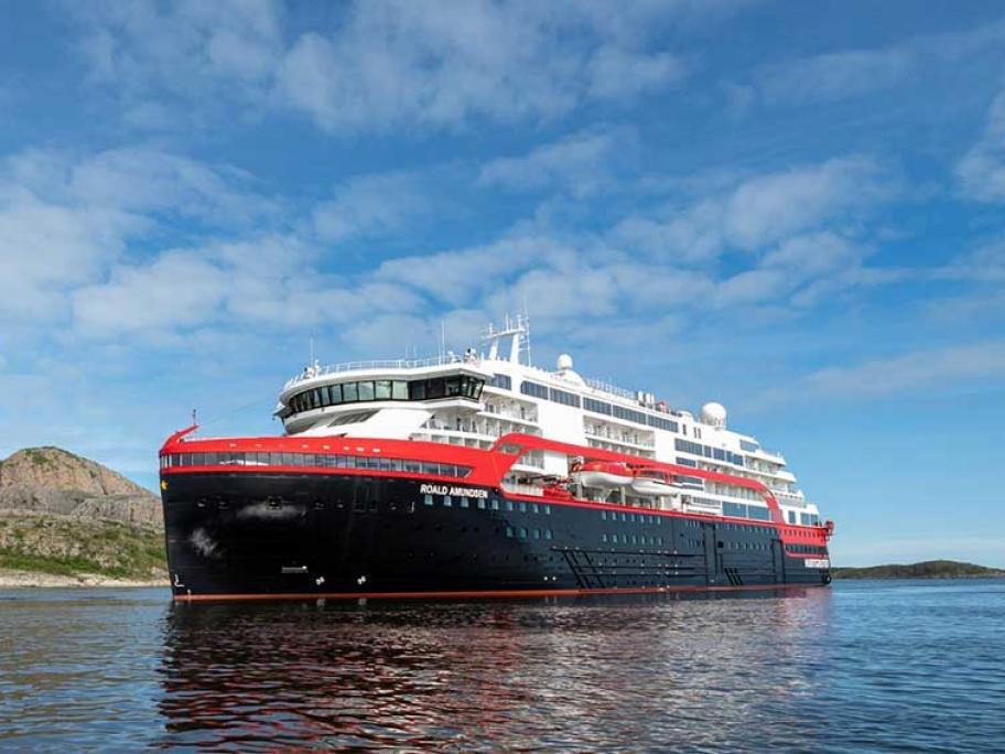 The MS Roald Amundsen. Photo: Hurtigruten