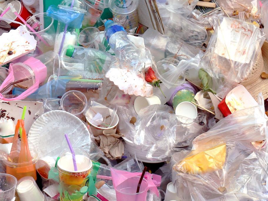 plastic rubbish