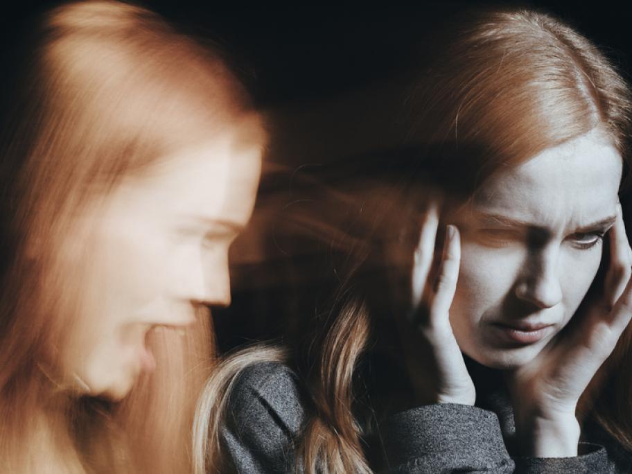 Teenage girl having psychotic episode
