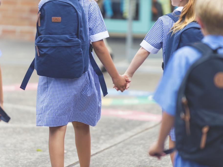 young schoolchildren