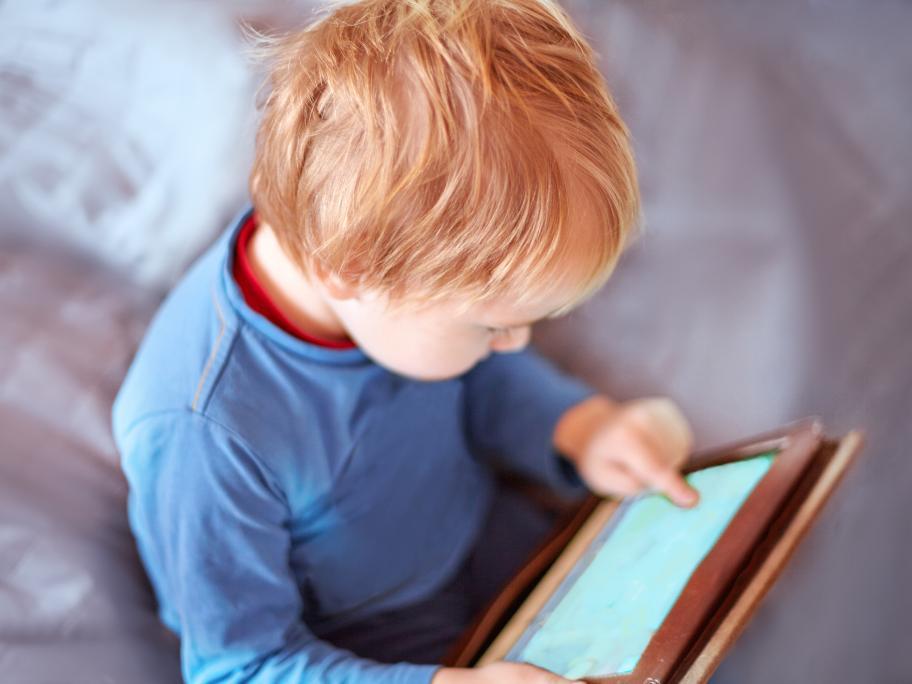 iPad child