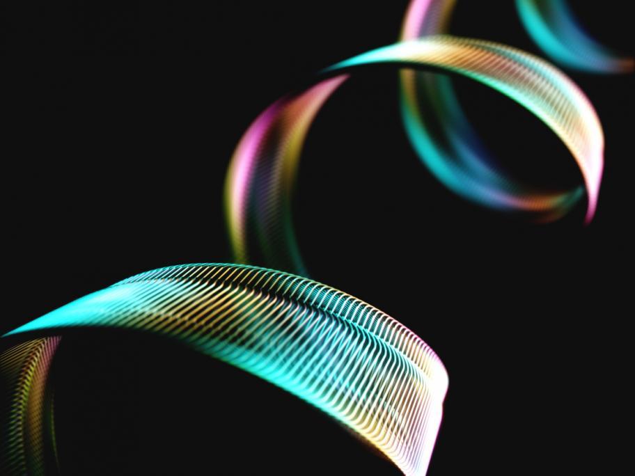 Spiralling strand