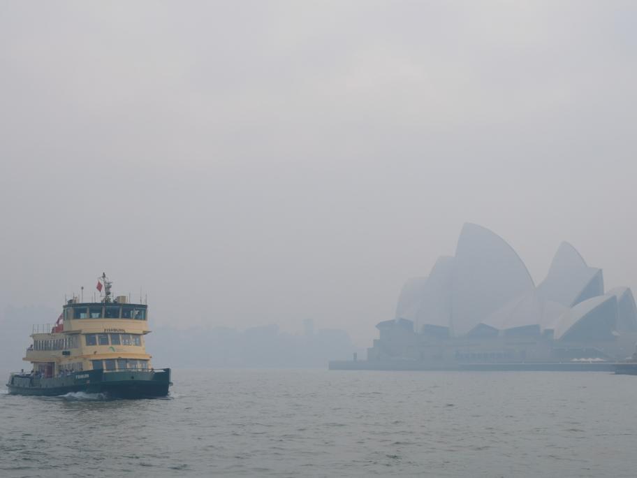 Smoke over Sydney
