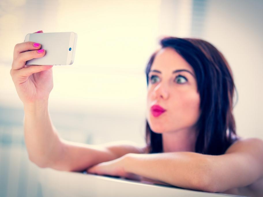 Bath and phone