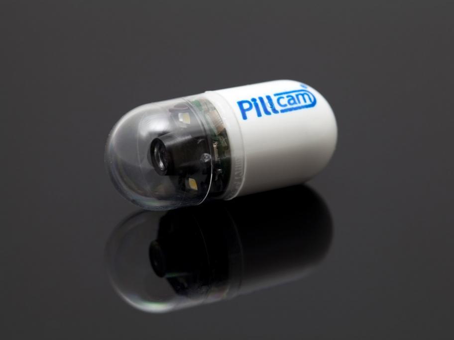 Capsule camera (Pillcam)
