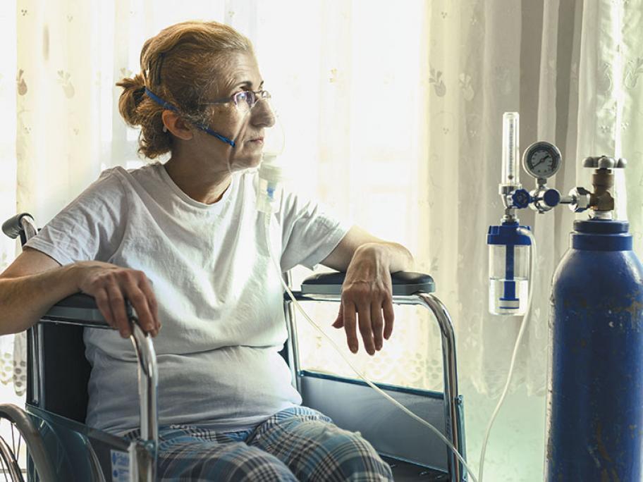 Oxygen chronic disease respiratory