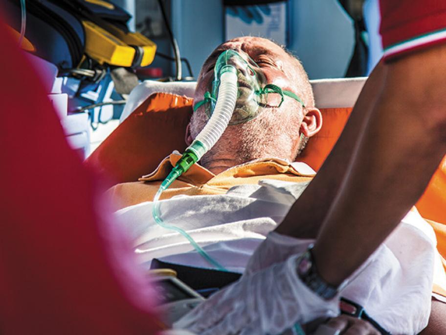 ambulance oxygen emergency