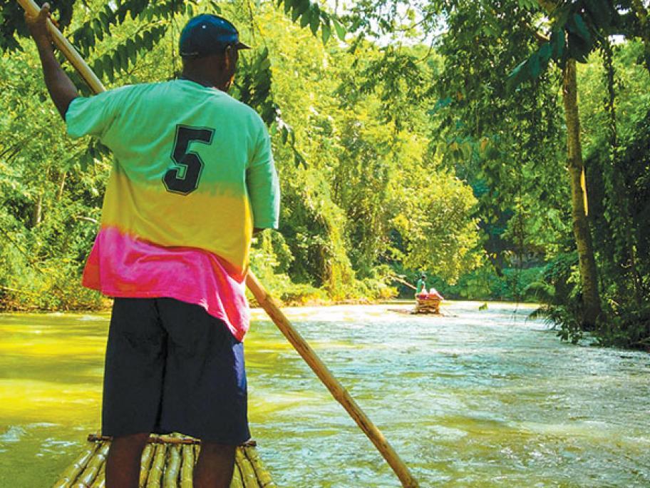martha-brae river jamaica rafting