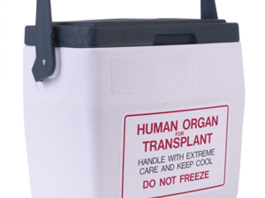 Transplant container