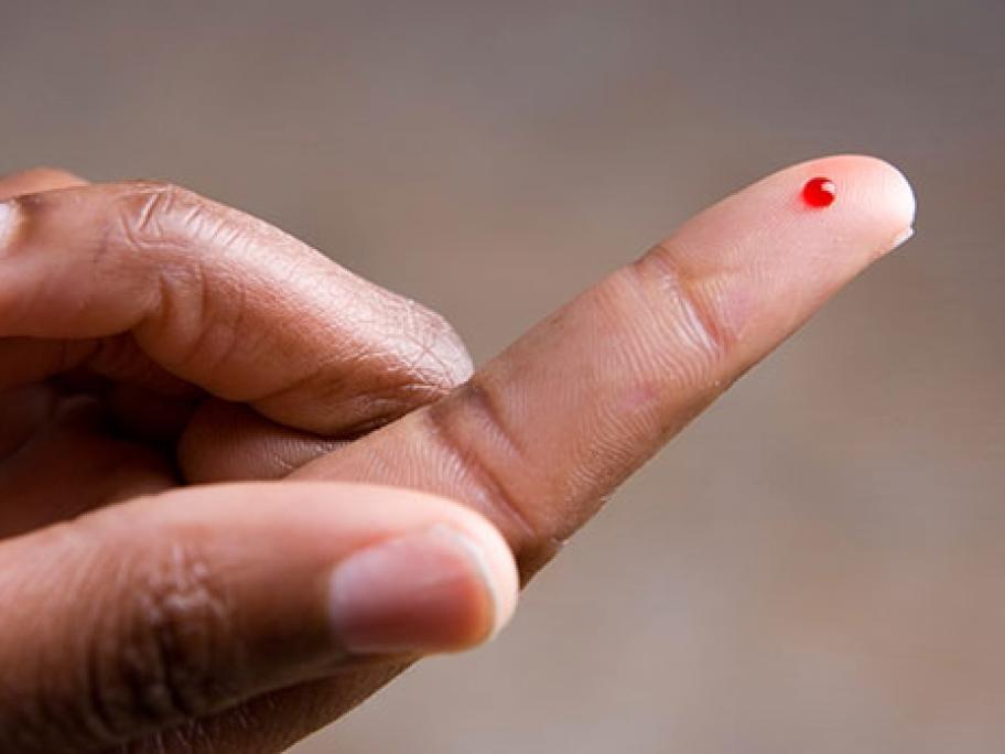 fingerprick