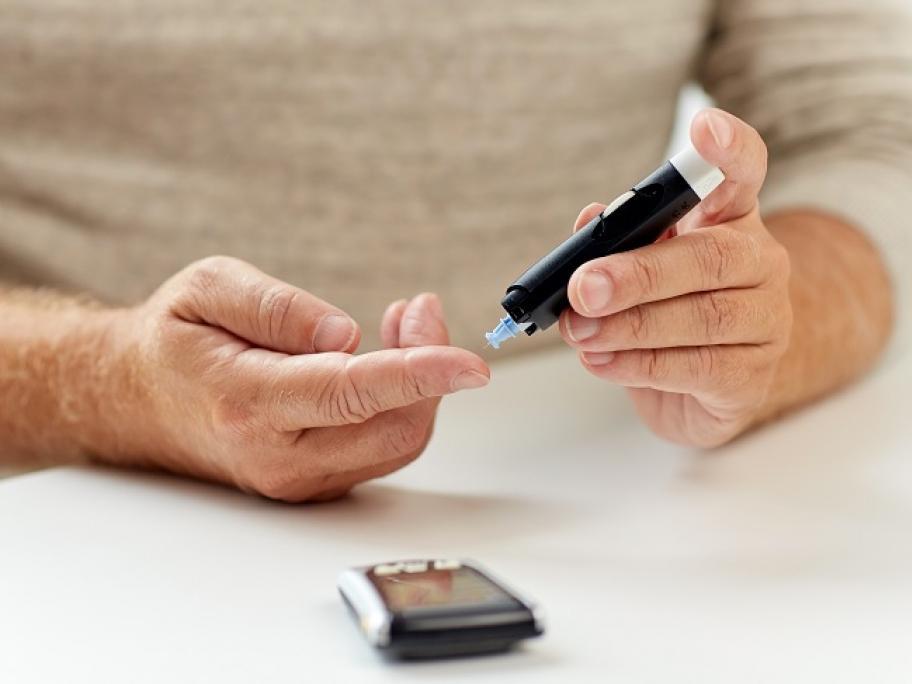 older patient with diabetes