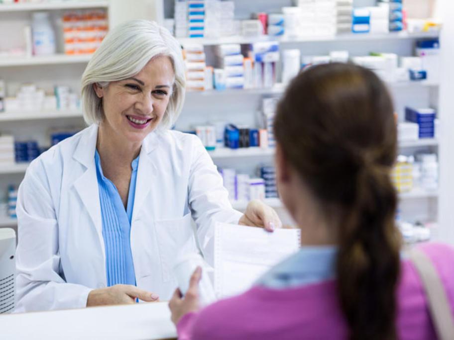 helpful pharmacist