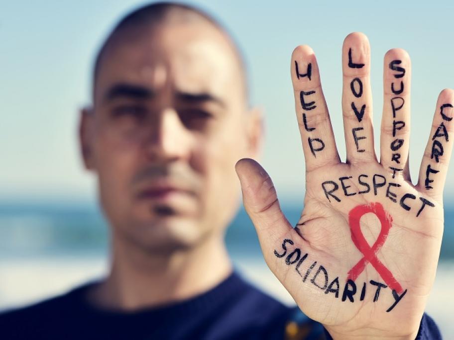 HIV concept