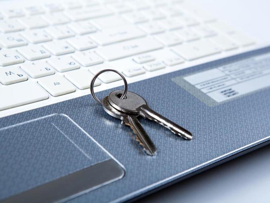 keys on a keyboard